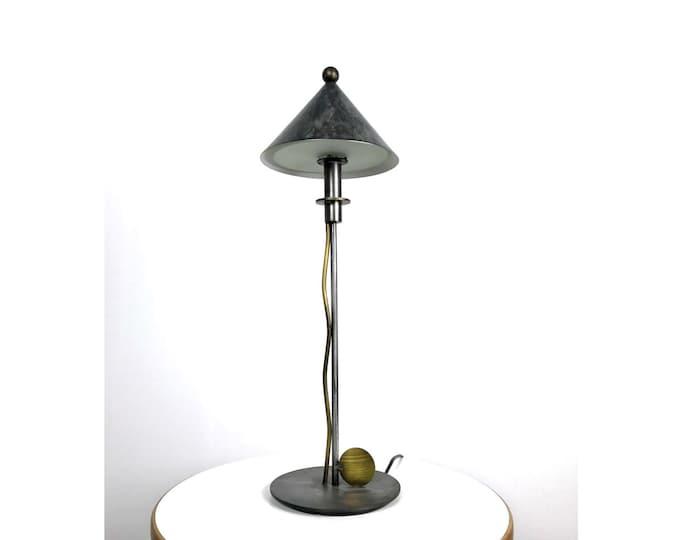 Rare Robert Sonneman George Kovacs Post Modern Desk or Table Lamp, 1980's
