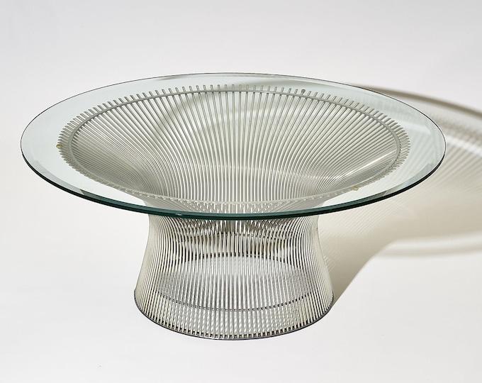Vintage Warren Platner Coffee Table for Knoll 1970s
