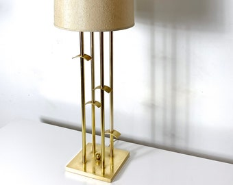 "41"" Brass Table Lamp By Laurel Lamp Company 1960's"
