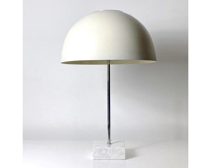 Paul Mayen Mushroom Lamp on Marble Base 1960s