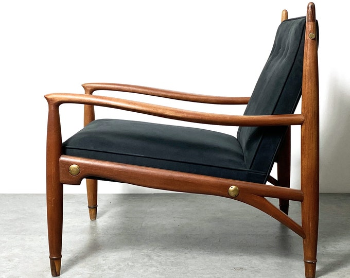 Mid Century Frank Kyle Lounge Chair Mexico 1950s