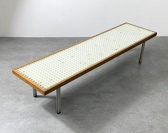 Custom Mid Century Modern Low Table circa 1950s