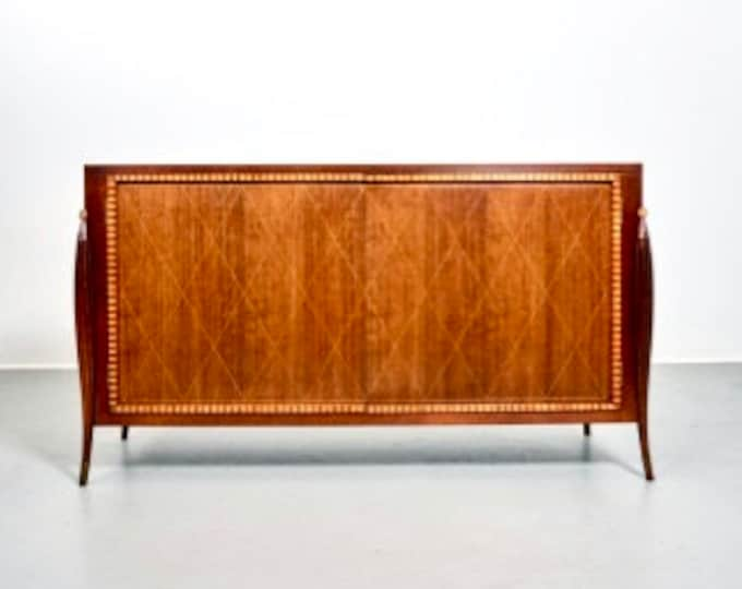 Vintage Baker Furniture Sculptural Credenza 1980s
