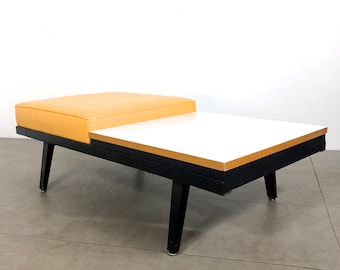 George Nelson Herman Miller Steelframe Bench / Table 1950's