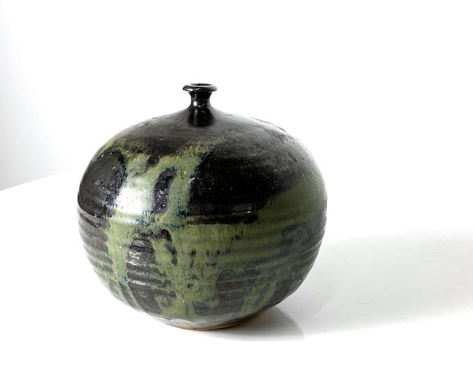 John Loree Studio Pottery Weed Vase 1960s