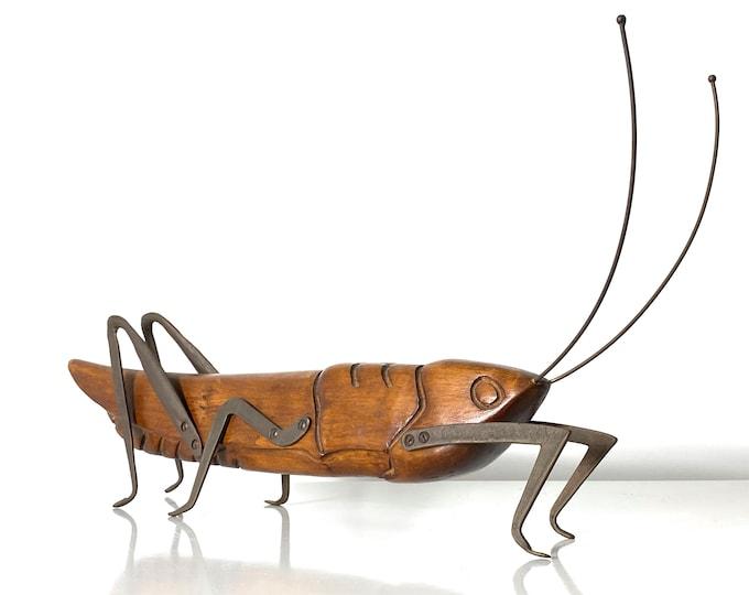 Rare Sarreid Ltd Grasshopper Sculpture 1970s