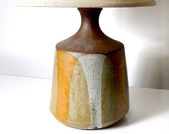 David Cressey Flame Glaze Lamp 1960s