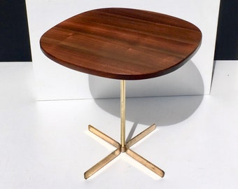 Rare Brass Allan Gould Side Table 1950s