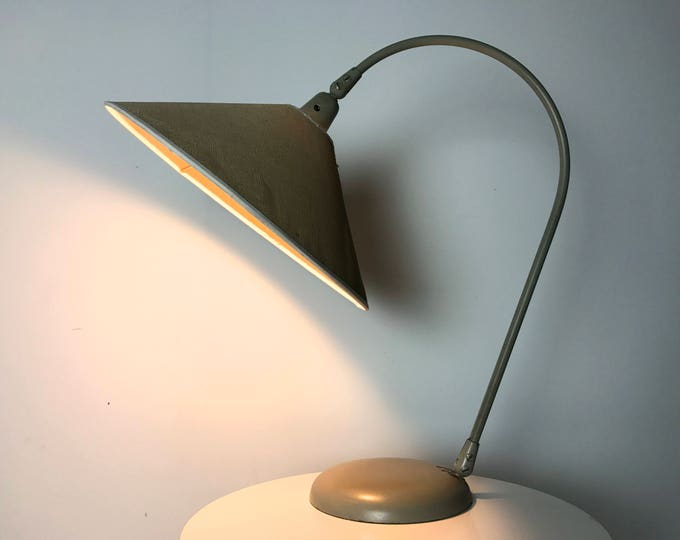 Rare Kurt Versen Articulated Table Lamp 1950's