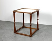 Arthur Umanoff Rare Walnut Tray Side Table 1960s
