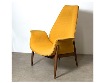 Arthur Umanoff for Madison Tall Back Lounge Chair 1960's