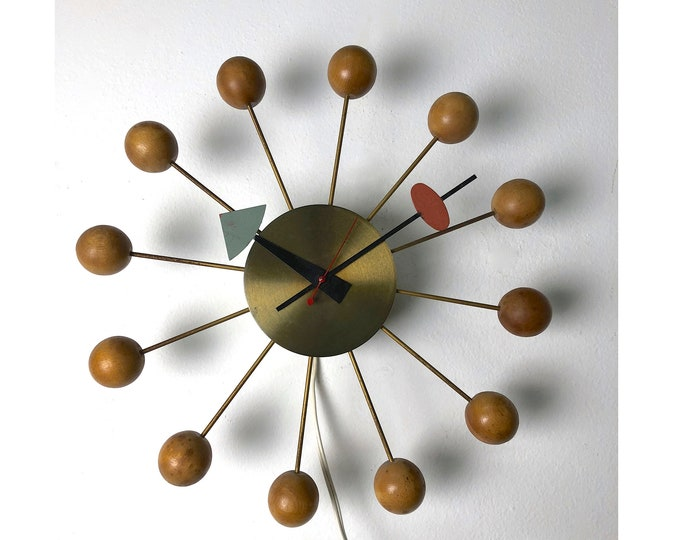 Original Irving Harper for George Nelson Assoc. Ball Clock 1950's