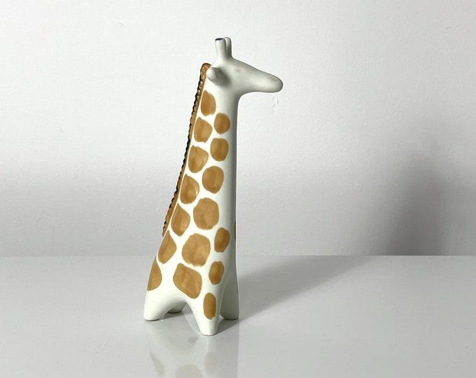 Taisto Kaasinen Arabia Finland Ceramic Giraffe Sculpture 1960s