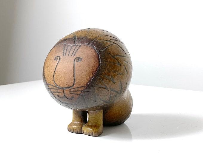 Lisa Larson Gustavsberg Lion Sculpture 1960s