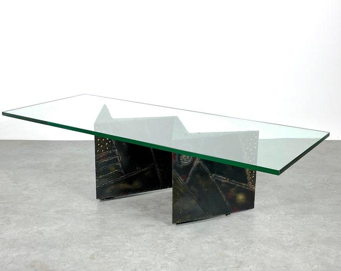 Paul Evans Zig Zag Brutalist Coffee Table 1960s