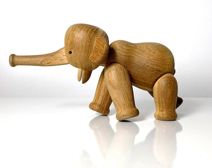 Vintage Original Kay Bojesen Articulated Elephant Figurine 1950s