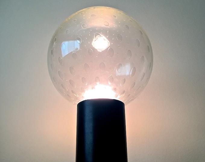 Rare RAAK Large Bubble Glass Globe Table Lamp Mid Century Modern Space Age