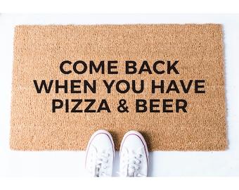 016938ff4b88e Pizza doormat | Etsy
