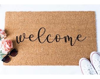 Welcome Doormat   Welcome Mat   Welcome Door Mat   Cute Door Mat   Unique  Doormat   Hello Rug   Doormats   Hello Mat   Cute Doormat   Rug