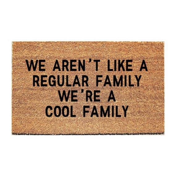 Cool Family Doormat Funny Doormat Funny Door Mat | Etsy