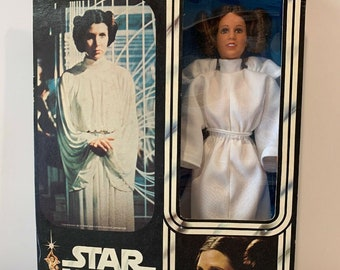 Kenner Star Wars 12 Inch Princess Leia, Complete In Box 1978, Never Been Removed, Accessories Bag Still Sealed