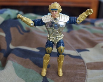 1986 Mattel L.E.G. Captain Power Action Figure