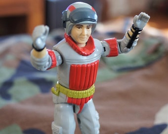 1987 Hasbro GI Joe Sneak Peak With Backpack and Radio ARAH