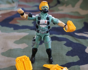 1986 Hasbro GI Joe Wet Suit Complete  ARAH.