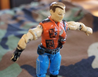 1987 Hasbro GI Joe Mercer ARAH