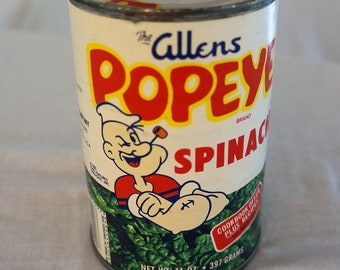 Allens Popeye Spinach Can