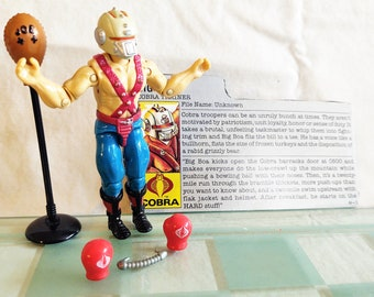 1987 GI Joe Big Boa, Complete, Mint, Hasbro ARAH, Gorgeous Figure