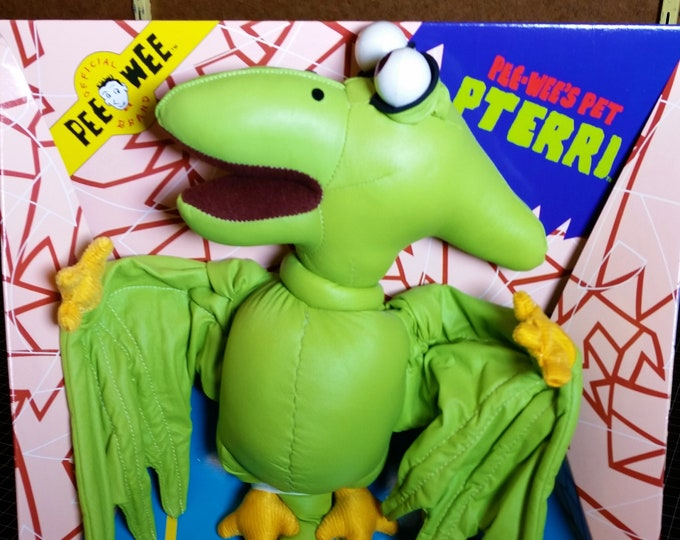 Featured listing image: Vintage Pterri from Pee Wee's Playhouse, Minty