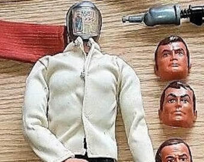Featured listing image: Kenner Six Million Dollar Man Maskatron SMDM