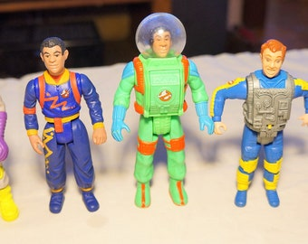 Vintage Kenner Real Ghostbusters Ray Stantz and Winston Zeddemore Heroes, Your Choice