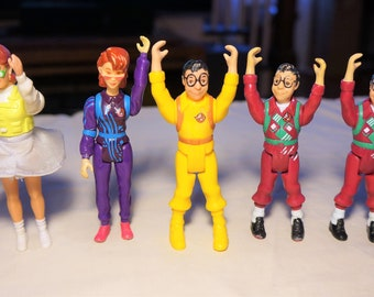 Vintage Kenner Real Ghostbusters Louis Tully and Janine Melnitz Heroes, Your Choice