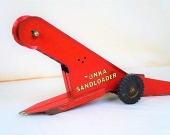 Tonka Sand Loader 50s, MCormick/International Red