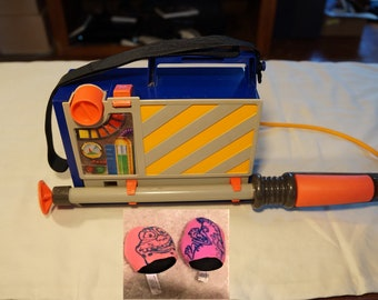 Kenner Real Ghostbusters Ghost Nabber, 1990, Last of the Line, RARE, With Ghosts!