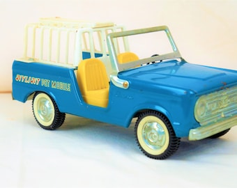 Nylint Ford Bronco Pet Mobile, 60s, Royal Blue With Whitewalls