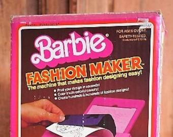 1980's Mattel Barbie Fashion Maker IOB!  Minty and works!