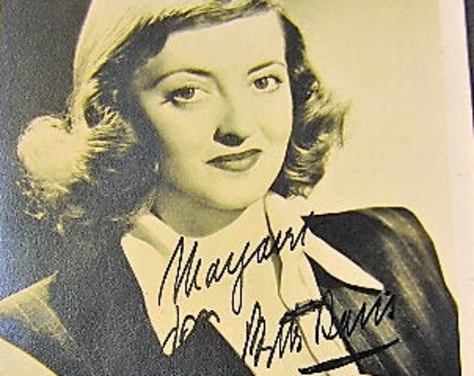 Featured listing image: Vintage Hollywood Movie Star Autograph Book, rare 14 year old Elizabeth Taylor, Gregory Peck, Bob Hope, Henry Fonda, Bette Davis +++!