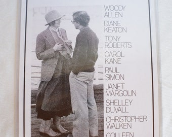 Woody Allen's  Annie Hall Movie Poster