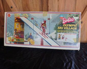 1974 Mattel Barbie Olympic Village NMIB!  Winter Olympics ski jump exactly as seen at Pyeong-Chang!