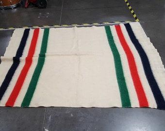 Vintage Hudson's Bay Trader Blanket
