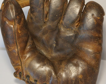 Antique J.C. Higgins Model 1658 Baseball Glove (like having a catch on a Field of Dreams)