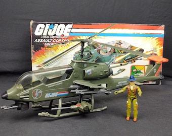 1983 Hasbro GI Joe Dragonfly Complete In Box ARAH