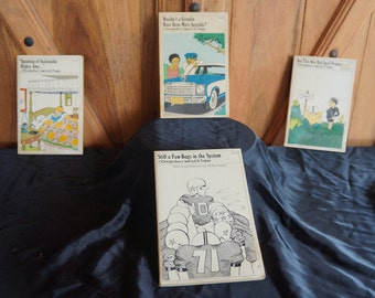 1975 Doonesbury paperback books set of 4 books