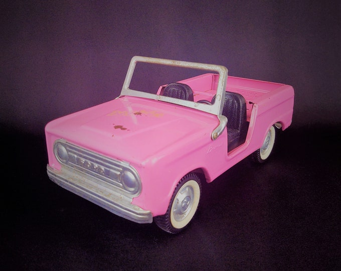 Featured listing image: Vintage Nylint Grant's Exclusive Ford Bronco, Pink With Black Interior, No. 9705, Holy Grail