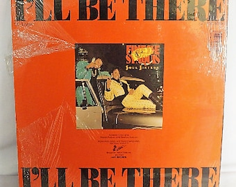 """1988 Finesse and Synquis Soul Sisters 12"""" Album- I'll Be There- MCA Records produced by Kyle West"""