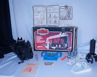 Kenner 1980 Star Wars Empire Strikes Back Darth Vader's Star Destroyer CIB, Vintage