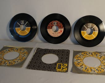 The Doors lot of three 45rpm records: Love Street/Hello I Love You; Light My Fire/The Crystal Ship; Touch Me/Wild Child all Elektra Records